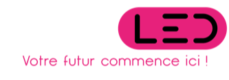 Footer Logo cominled enseignes led
